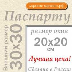Паспарту 30х30 см №3