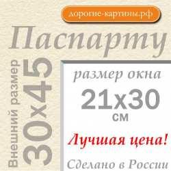 Паспарту А3 30х45 см №3