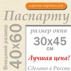 Паспарту А2 40х60 см №3