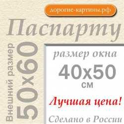 Паспарту 50х60 см №3
