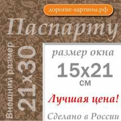 Паспарту 21x30 см (А4) №12