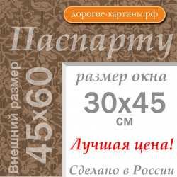 Паспарту 45х60 см №12
