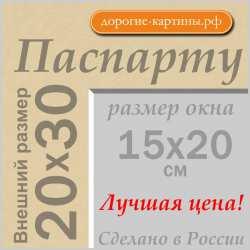 Паспарту A4 20x30 см №151nn
