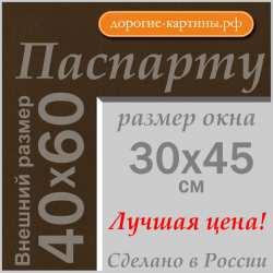 Паспарту A2 40x60 см №162