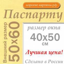 Паспарту 50x60 см №165
