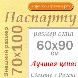 Паспарту 70x100 см №165
