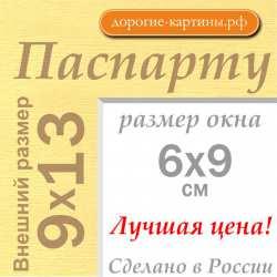 Паспарту 9x13 см №165