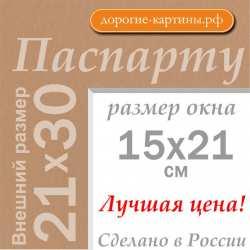 Паспарту 21х30 см (A4) №203