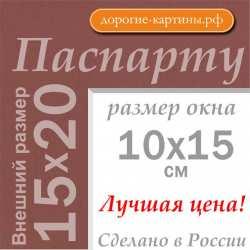 Паспарту 15х20 см (А5) №206