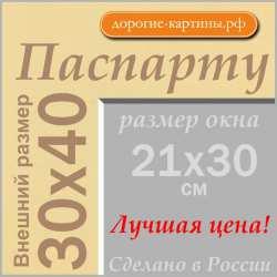 Паспарту 30x40см (А3) №62