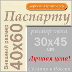 Паспарту 40x60 см (А2) №71