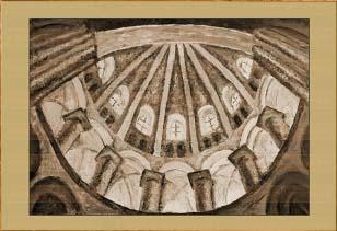 Купол собора. Картина. Холст. Мосло.