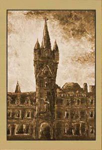 Замок в закате IX
