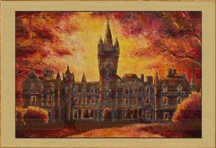Замок в закате III