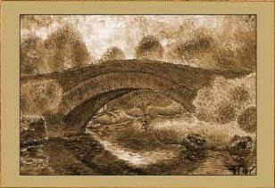 Осень. Мост (фрагмент III)