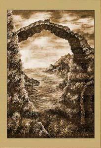 Арка. Развалины (фрагмент III)