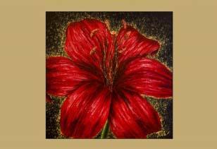 Красная лилия III
