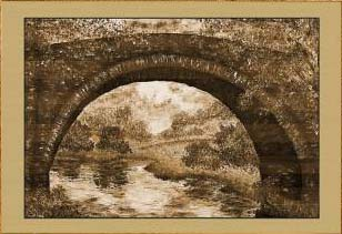 Осень. Под мостом (фрагмент I)