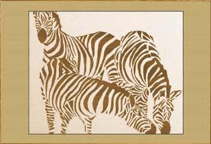 Три зебры II